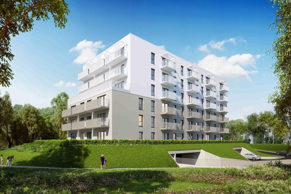 nowo powstajaca inwestycja mieszkaniowa na krakowskim Ruczaju