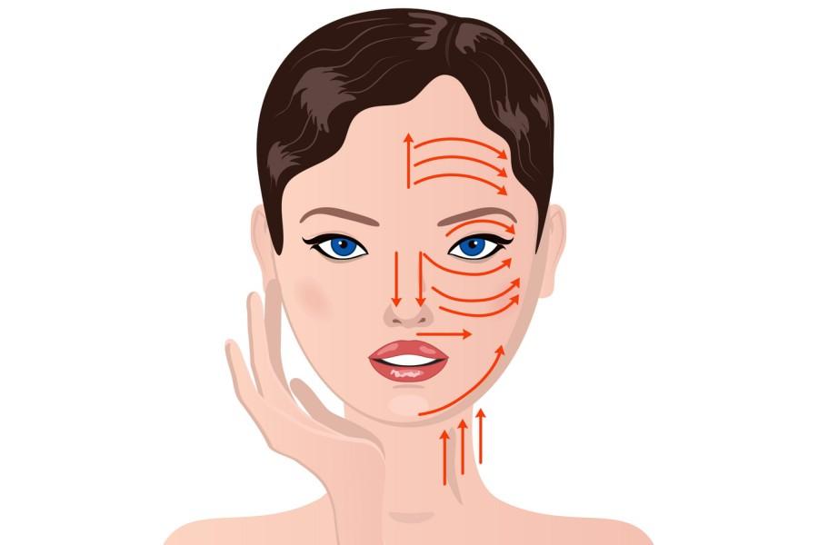 masaz limfatyczny na twarz